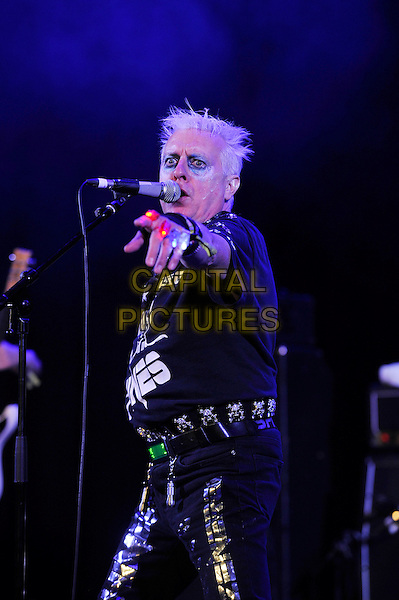 BLACKPOOL, ENGLAND - AUGUST 6: Spizz (Kenneth Spiers) performing at Rebellion Festival, Empress Ballroom, Winter Gardens on August 6, 2016 in Blackpool, England.<br /> CAP/MAR<br /> &copy;MAR/Capital Pictures