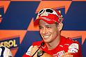 July 2, 2010 - Catalunya, Spain - Australian rider Casey Stoner answer journalist's questions during the Catalunya Grand Prix, Spain, on July 2, 2010. (photo Andrew Northcott/Nippon News)