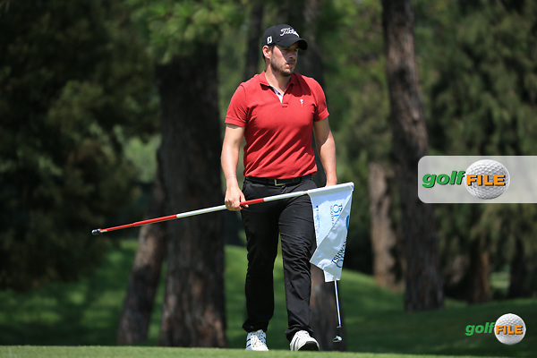 Jose-Felipe Lima (POR) in action during the Final Round of the 2016 Tshwane Open, played at the Pretoria Country Club, Waterkloof, Pretoria, South Africa.  14/02/2016. Picture: Golffile   David Lloyd<br /> <br /> All photos usage must carry mandatory copyright credit (&copy; Golffile   David Lloyd)