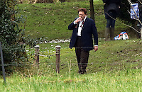Actor Celyn Jones who plays Dylan Thomas<br />