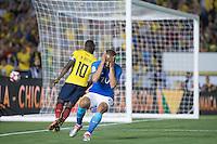 Action photo during the match Brazil vs Ecuador, Corresponding Group -B- America Cup Centenary 2016, at Rose Bowl Stadium<br /> <br /> Foto de accion durante el partido Brasil vs Ecuador, Correspondiante al Grupo -B-  de la Copa America Centenario USA 2016 en el Estadio Rose Bowl, en la foto: Lucas Moura de Brasil<br /> <br /> <br /> 04/06/2016/MEXSPORT/Omar Martinez.