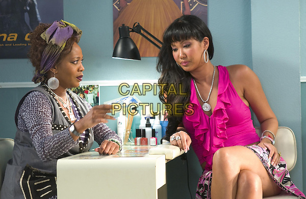 ALFRE WOODARD & KIMORA LEE SIMMONS.in Beauty Shop.*Editorial Use Only*.www.capitalpictures.com.sales@capitalpictures.com.Supplied by Capital Pictures.