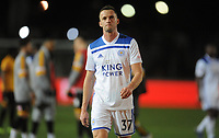 Leicester City's Andy King looks dejected at the final whistle <br /> <br /> Photographer Ian Cook/CameraSport<br /> <br /> The Emirates FA Cup Third Round - Newport County v Leicester City - Sunday 6th January 2019 - Rodney Parade - Newport<br />  <br /> World Copyright © 2019 CameraSport. All rights reserved. 43 Linden Ave. Countesthorpe. Leicester. England. LE8 5PG - Tel: +44 (0) 116 277 4147 - admin@camerasport.com - www.camerasport.com