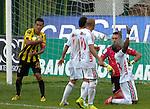 Alianza Petrolera empato 1 gol por 1 a Patriotas  en el partido correspondiente a la fecha 12 del Torneo Clausura 2014, desarrollado en el estadio Metropolitano de Techo, en la noche del 24 de septiembre.