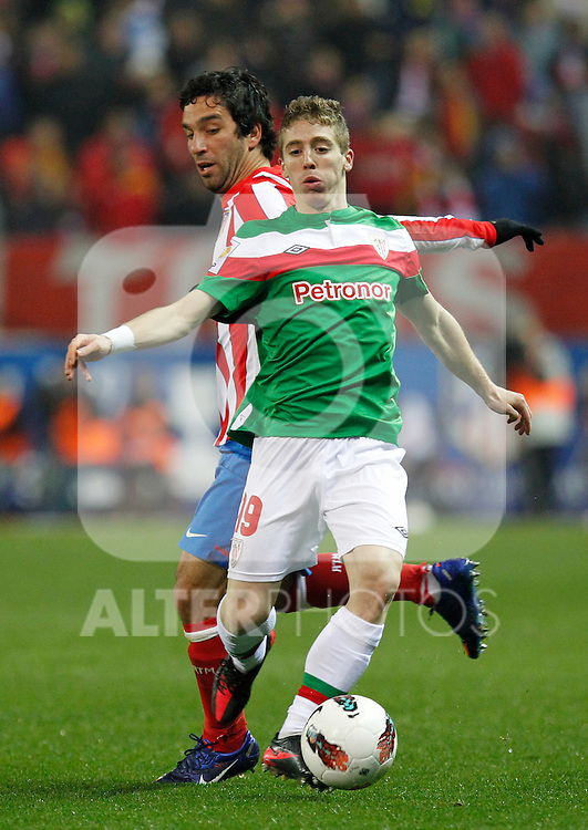 Madrid 21/03/2012.- Estadio Vicente Calderon..Liga BBVA..Atco.Madrid - Athletic Club.Muniain, Arda...©Alex Cid-Fuentes/ALFAQUI FOTOGRAFIA.........