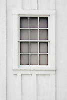 .   White window