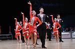 """07.12.2019,  GER; Tanzen, WDSF Weltmeisterschaft der Lateinformationen, Zwischenrunde, im Bild CMG Radom (POL) mit dem Thema """"Love"""" Foto © nordphoto / Witke"""