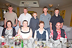 Ann Clifford from Cahersiveen celebrated her 60th birthday with family at the Ring of Kerry Hotel on Sunday night last pictured front l-r; Katie O'Connor, Noreen Corcoran, Ann Clifford, Mick McGillicuddy, back l-r; Paudie Connor, Declan Corcoran, Stephen Corcoran, Johnny Clifford & Bryan Corcoran.