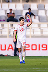 Sardar Azmoun of Iran celebrates scoring the second goal during the AFC Asian Cup UAE 2019 Group D match between Vietnam (VIE) and I.R. Iran (IRN) at Al Nahyan Stadium on 12 January 2019 in Abu Dhabi, United Arab Emirates. Photo by Marcio Rodrigo Machado / Power Sport Images