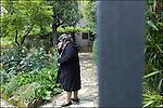 Castellina in Chianti, Toscane, le 25 mai 2013, Chez la veuve de Léo Ferré, en compagnie de son fils Mathieu Ferré et sa femme Manola, sa femme Marie Christine Ferré Diaz et sa belle mère Jeanne Diaz, en visite Jean Jacques Pedretti manager de Frré durant de nombreuses années © sedrik nemeth