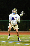Manhattan Beach, CA 03/03/10 - Trevor Gudim (UCLA # 20) in action during the UCLA-Loyola Marymount University MCLA/SLC divisional game at Mira Costa High School in Manhattan Beach, California.  LMU defeated UCLA 11-10.