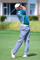 Sergio Garcia (ESP) watches his approach shot on 8 during round 1 of the Honda Classic, PGA National, Palm Beach Gardens, West Palm Beach, Florida, USA. 2/23/2017.<br /> Picture: Golffile | Ken Murray<br /> <br /> <br /> All photo usage must carry mandatory copyright credit (&copy; Golffile | Ken Murray)