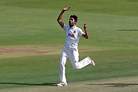 Mohammad Amir of Essex with an appeal for a wicket during Essex CCC vs Middlesex CCC, Specsavers County Championship Division 1 Cricket at The Cloudfm County Ground on 26th June 2017