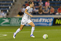 Chicago, IL - Wednesday Sept. 07, 2016: Yael Averbuch during a regular season National Women's Soccer League (NWSL) match between the Chicago Red Stars and FC Kansas City at Toyota Park.