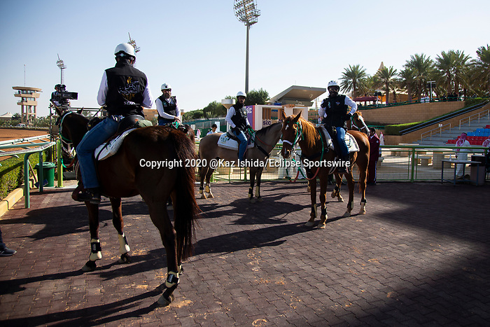 RIYADH,SAUDI ARABIA-FEB 28:  Track sceneat King Abdulaziz Racetrack on February 28,2020 in Riyadh,Saudi Arabia. Kaz Ishida/Eclipse Sportswire/CSM