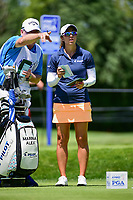 Marina Alex (USA) prepares to tee off on 2 during Saturday's round 3 of the 2017 KPMG Women's PGA Championship, at Olympia Fields Country Club, Olympia Fields, Illinois. 7/1/2017.<br /> Picture: Golffile | Ken Murray<br /> <br /> <br /> All photo usage must carry mandatory copyright credit (&copy; Golffile | Ken Murray)