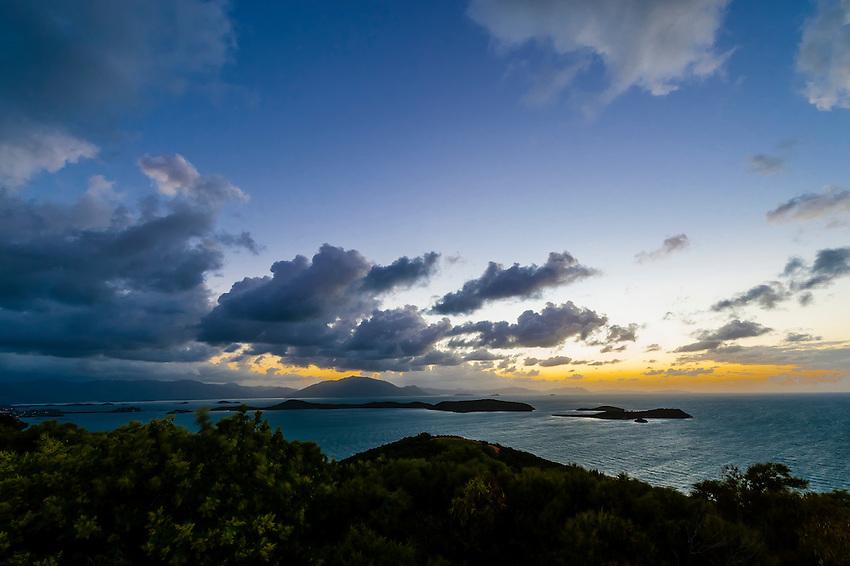 Sunrise from One Taro Hill, Noumea, Grand Terre, New Caledonia