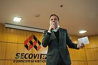 SÃO PAULO,SP, 22.07.2016 - ELEIÇÕES-SP - O empresário João Dória Junior, pré-candidato do PSDB, durante palestra no Sindicato da Habitação da Vila Mariana na tarde desta sexta-feira, 22. (Foto: Rogério Gomes/Brazil Photo Press)