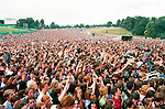 Slane Castle 1995 REM headline the concert with Oasis, Spearhead, Sharon Shannon, Belly, Luka Bloom.<br /> Picture: www.newsfile.ie <br /> NEWSFILE ARCHIVE