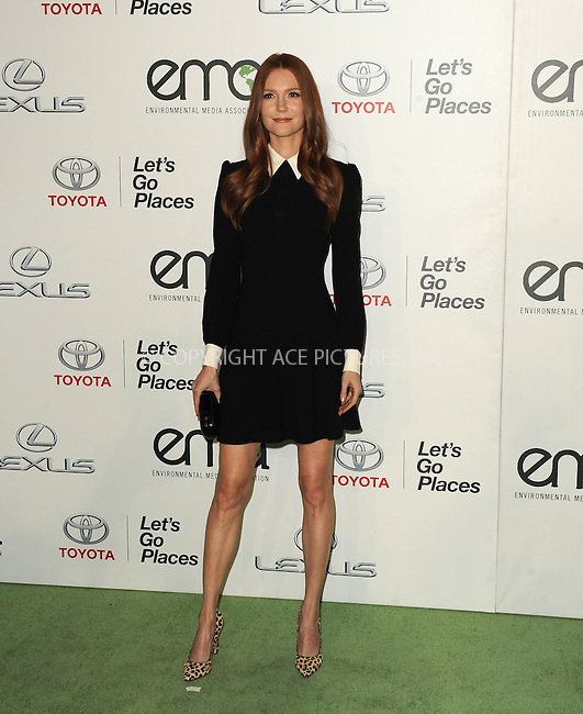 WWW.ACEPIXS.COM<br /> <br /> October 24 2015, LA<br /> <br /> Darby Stanchfield arriving at the 25th Environmental Media Awards at Warner Bros. Studios on October 24, 2015 in Burbank, California<br /> <br /> By Line: Peter West/ACE Pictures<br /> <br /> <br /> ACE Pictures, Inc.<br /> tel: 646 769 0430<br /> Email: info@acepixs.com<br /> www.acepixs.com