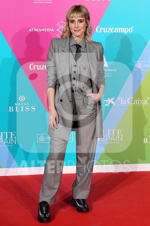 Natalia de Molina attends 23th Malaga Film Festival cocktail party at Circulo de Bellas Artes on March 03, 2020 in Madrid, Spain.(ALTERPHOTOS/ItahisaHernandez)