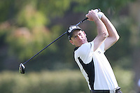 02/19/12 Pacific Palisades: Jim Furyk during the fourth round of the Northern Trust Open held at the Riviera Country Club