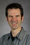 Josh Jones, Associate Professor, School of Cinematic Arts, College of Computing and Digital Media, DePaul University, is pictured Feb. 27, 2018. (DePaul University/Jeff Carrion)