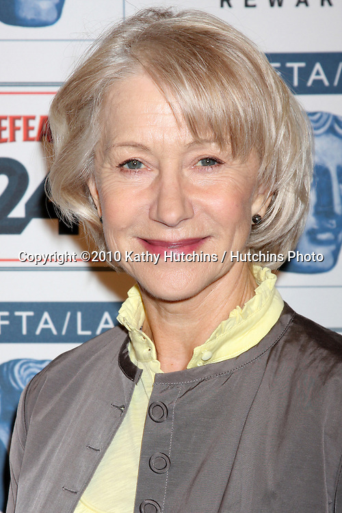 Helen Mirren.arriving at the BAFTA/LA Awards Season Tea Party 2010.Beverly Hills Hotel.Beverly Hills, CA.January 16, 2010.©2010 Kathy Hutchins / Hutchins Photo....