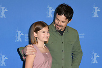 BERLIN, GERMANY - FEBRUARY 8: Anna Pniowsky and Casey Affleck attend the Light Of My Life photocall during the 69th Berlinale International Film Festival Berlin at the Grand Hyatt Hotel on February 8, 2019 in Berlin, Germany.<br /> CAP/BEL<br /> &copy;BEL/Capital Pictures