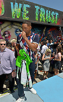 MIAMI, FL - JULY 25: Will Smith attends the 'Suicide Squad' Wynwood Block Party and Mural Reveal with cast on July 25, 2016 in Miami, Florida.  Credit: MPI10 / MediaPunch