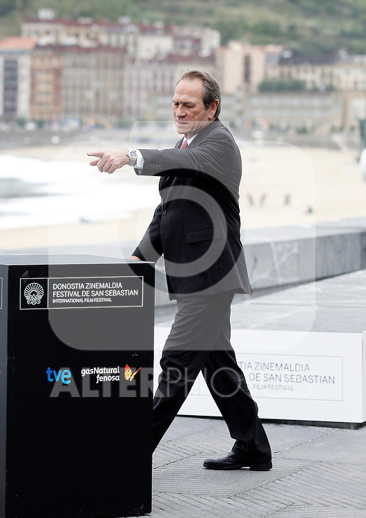 The actor Tommy Lee Jones attends the photocall of 'Hope Springs' during the 60th San Sebastian Donostia International Film Festival - Zinemaldia.September 28,2012.(ALTERPHOTOS/ALFAQUI/Acero)