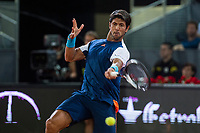 Fernando Verdasco during the match of the Charity day previus at Madrid Open Tenis 2017in  Madrid, Spain. May 04, 2017. (ALTERPHOTOS/Rodrigo Jimenez) /NORTEPHOTO.COM