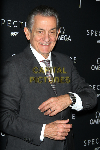 NEW YORK, NY - NOVEMBER 4: President of Omega Stephen Urquhart at Omega presents advance screening of 007 Spectre at AMC Lowes Lincoln Square 13 in New York City on November 4, 2015. <br /> CAP/MPI/RW<br /> &copy;RW/MPI/Capital Pictures