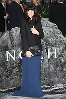 Claudia Winkleman arriving for the UK Premiere or Noah, at Odeon Leicester Square, London. 31/03/2014 Picture by: Alexandra Glen / Featureflash