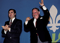 FILE -<br /> Jacques Parizeau circa  1988-1990<br /> <br /> <br /> PHOTO  : Pierre Roussel - Agence Quebec Presse