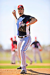 1 March 2010: Washington Nationals' relief pitcher Ryan Speier on the mound during Spring Training at the Carl Barger Baseball Complex in Viera, Florida. Mandatory Credit: Ed Wolfstein Photo