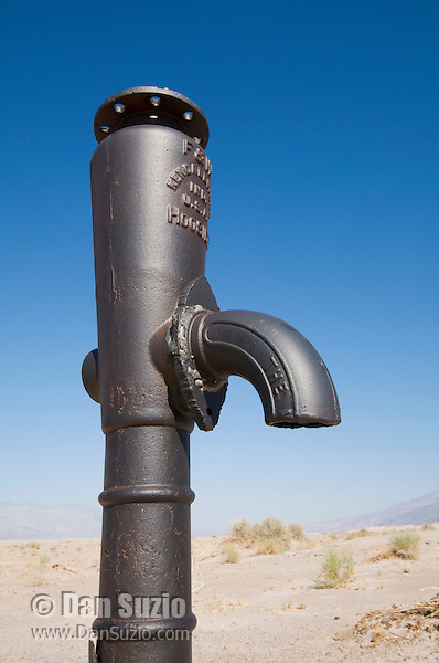 Historic Stovepipe Well, Death Valley National Park, California