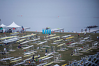 Sarasota. Florida USA.&quot;The Shows Over&quot; Boat tent area Sunday Last finals day. Sunday Final's Day at the  2017 World Rowing Championships, Nathan Benderson Park<br /> <br /> Sunday  01.10.17   <br /> <br /> [Mandatory Credit. Peter SPURRIER/Intersport Images].<br /> <br /> <br /> NIKON CORPORATION -  NIKON D4S  lens  VR Zoom 70-200mm f/2.8G IF-ED mm. 400 ISO 1/125/sec. f 2.8