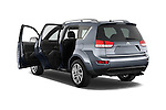 Rear three quarter door view of a 2007 - 2012 Citroen C-CROSSER Exclusive  SUV 4WD