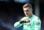 Stoke's Jack Butland in action during the premier league match at Goodison Park, Liverpool. Picture date 12th August 2017. Picture credit should read: David Klein/Sportimage