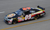 May 1, 2009; Richmond, VA, USA; NASCAR Sprint Cup Series driver Mike Bliss during practice for the Russ Friedman 400 at the Richmond International Raceway. Mandatory Credit: Mark J. Rebilas-