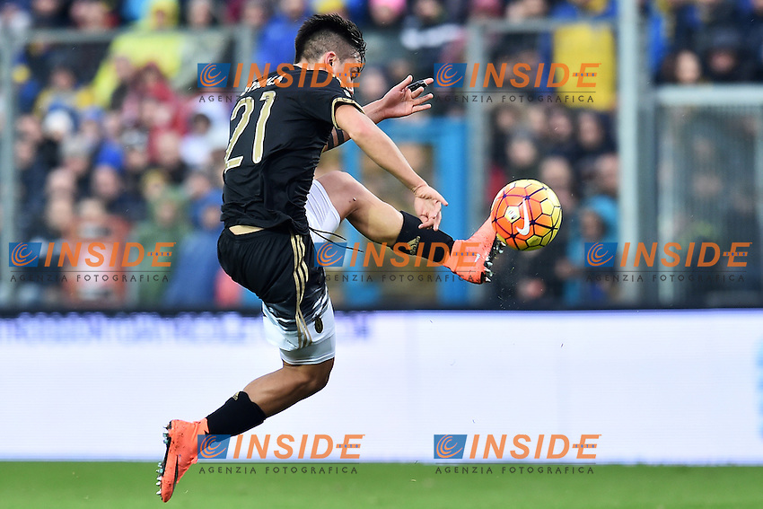 Paulo Dybala Juventus <br /> Frosinone 07-02-2016 Stadio Matusa Football Calcio Serie A 2015/2016 Frosinone - Juventus . Foto Antonietta Baldassarre Insidefoto