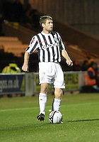 David van Zanten in the St Mirren v Hamilton Academical Scottish Communities League Cup match played at St Mirren Park, Paisley on 25.9.12.