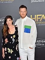 LOS ANGELES, CA. November 04, 2018: Dan Reynolds & Aja Volkman at the 22nd Annual Hollywood Film Awards at the Beverly Hilton Hotel.<br /> Picture: Paul Smith/Featureflash