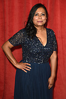LONDON, UK. June 01, 2019: Bharti Patel arriving for The British Soap Awards 2019 at the Lowry Theatre, Manchester.<br /> Picture: Steve Vas/Featureflash