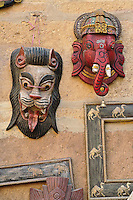 Tourist trinkets, Fort Jaisalmer, Jaisalmer, India.