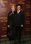 Claire Van Kampen and Mark Rylance attends the Broadway Opening Night performance After Party for 'Farinelli and the King' at The Belasco Theatre on December 17, 2017 in New York City.