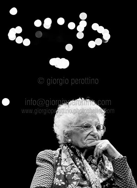 | Liliana Segre - Shoah survivor |<br /> client: Getty Images
