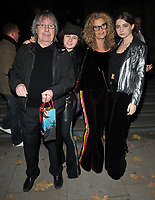 Bill Wyman and his family at the &quot;The Adoration Trilogy: Searching For Apollo&quot; by Alistair Morrison opening gala, Victoria &amp; Albert Museum, Cromwell Road, London, England, UK, on Monday 13 November 2017.<br /> CAP/CAN<br /> &copy;CAN/Capital Pictures