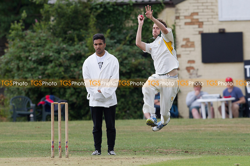 Winters of Harold Wood in action - Hornchurch CC 3rd XI vs Harold Wood CC 3rd XI - Essex Cricket League at Fielders Sports Ground - 05/07/14 - MANDATORY CREDIT: TGSPHOTO - Self billing applies where appropriate - 0845 094 6026 - contact@tgsphoto.co.uk - NO UNPAID USE